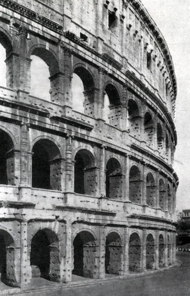 271. Колизей (амфитеатр Флавиев) в Риме. 75—82 гг. н. э.