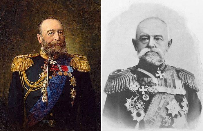 Вице-адмирал Е.И. Алексеев и генерал-лейтенант Н.П. Линевич – российские командующие в войне с ихэтуанями.