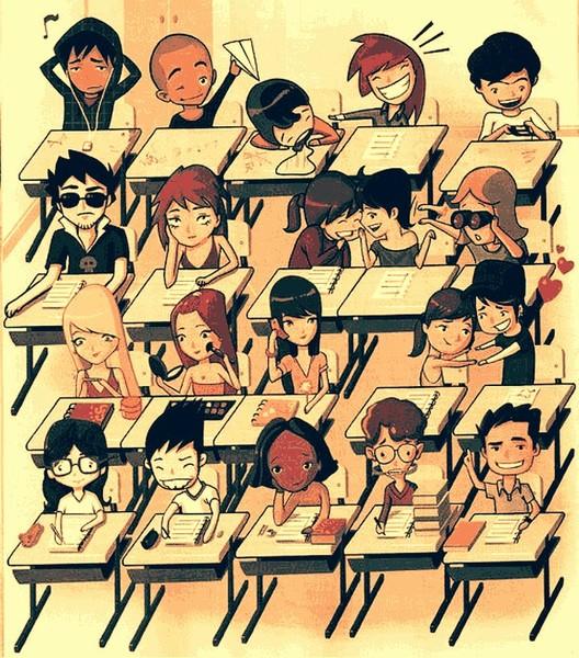 Днем, прикольные картинки классов