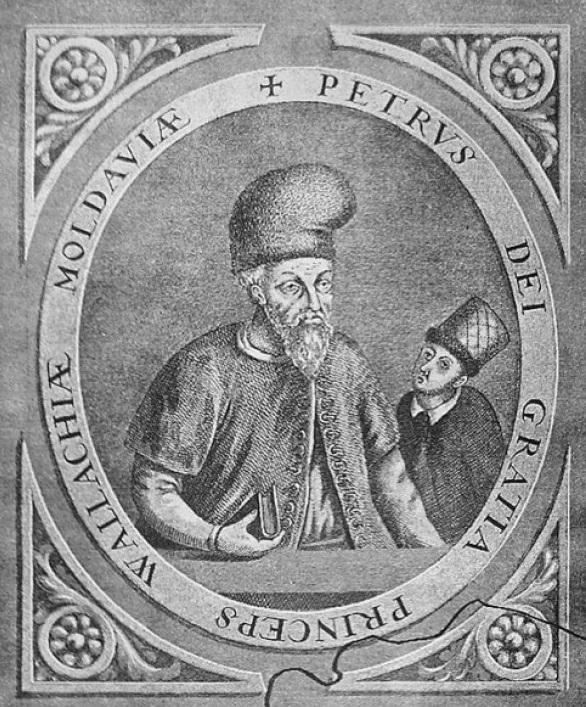 Петр Хромой с сыном.