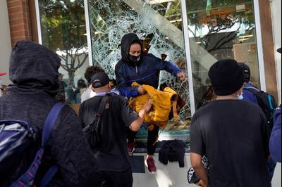 31 мая 2020 года кошерные магазины в Лос-Анджелесе были разграблены протестующими BLM